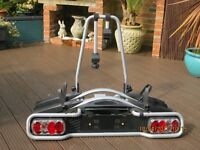 Tow bar cycle rack