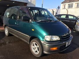 Free Delivery - 9/11/1997 Nissan Serena 2.0L Petrol Automatic, Disabled Vehicle - Free Delivery