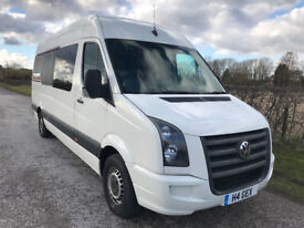 2007(57) VW Crafter C35 LWB Hi-Top 4 Berth 5 seat Racevan with garage - Rally, Karting, Autograss