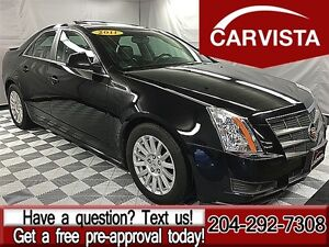 2011 Cadillac CTS 3.0L AWD -SUNROOF/LOCAL-$160 BW
