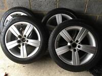 """17"""" Alloy wheels from Audi"""