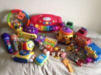Job lot toddler/baby toys