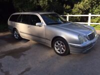 MERCEDES E320 CDI ELEGANCE AUTO ESTATE on a 52 plate 2002.
