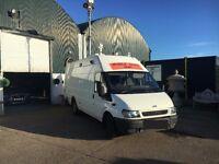 Ex - Goverment Rapid Deployment Mobile CCTV Vehicle 2004 FORD TRANSIT 350 LWB