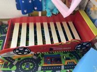 Boys,kids Racing Toddler Car Bed