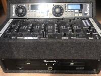Numark CD DJ decks