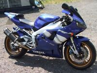 Yamaha R1 only 13000 miles mint condition, FSH, MOT. Carb model.