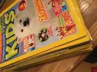 Children's - 25 Nat Geographic magazines