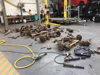 [Simmons BMW] BMW E36 E46 3 series Suspension Drivetrain Hubs/Diffs/Trailing Control Arms/Driveshaft
