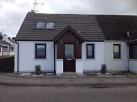 Portmahomack-Beach front 2 bed semi to let. Available mid February