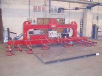 Vacuum lifters for wood, Laminates panels, Chipboard panels - www . equipmentliftingsystems . com