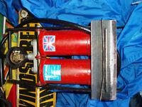 dual tyre pressure pump