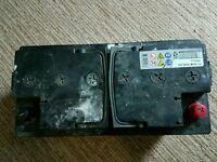 3 Large batteries. Scrap. Flat