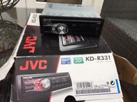 JVC radio CD player