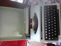 Silver reed type writer