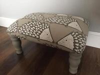 Hedgehog footstool