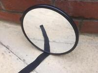 Baby safety rear view mirror