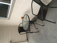 Patio Set, Table w/2 Chairs