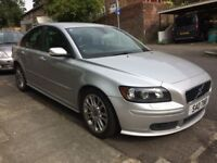 2005 Volvo S40 Special Edition SPORT Petrol 1.8 With Leathers and Private Plate