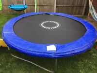 8ft trampoline less than 12month old