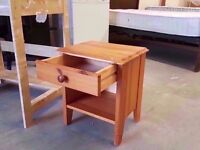Small bedside table with one drawer 30x40x50 cm