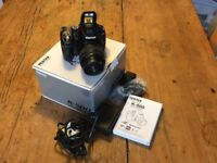 Pentax K-500 with 18-55 F3.5-56AL Lens, charger & 2 lithium batteries