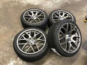 """18"""" VMR Wheels 5x120 and Winter Tire Package 225/40R18 (BMW 3 Series) Calgary Alberta Preview"""