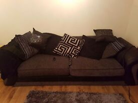DFS pillow back 3 seater sofa