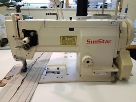 Sunstar KM-560 Industrial Walking Foot Leather Upholstery Sewing Machine