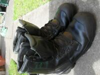 Elten chainsaw boot, with Class 1 Protection, v. good cond. £50 o.v.n.o