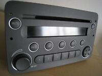 ALFA ROMEO CD PLAYER STEREO radio with code