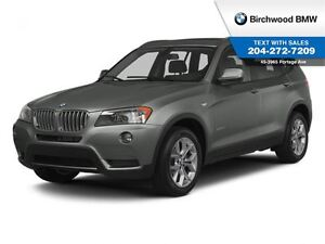 2014 BMW X3 xDrive28i Navigation Executive Premium!