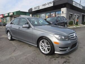 2013 Mercedes-Benz Classe-C C300 4Matic (AWD Sunroof, Leather, B