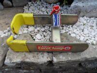 Bulldog Euro Clamp (Caravan - Trailer Robust Wheel Clamp With 2 x Keys)