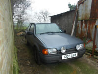 MK4 Ford Escort Bonus 3 door project spares repair non sunroof XR3I RS Turbo and spare engine