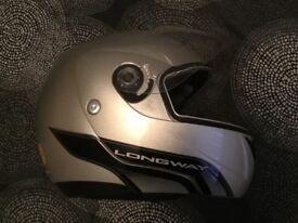 AGV Full/Open face motorcycle helmet.