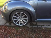 "19"" Judd t202 concave alloy wheels x4"
