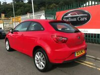 2014 14 Seat Ibiza Toca 1.4 Petrol 3 Door Hatchback 5 Speed Manual