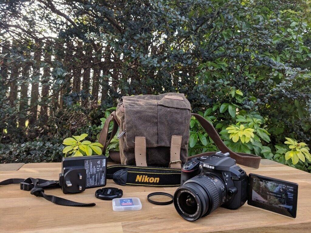 Nikon D5300 Dslr Camera 18 55mm Vr Lens Only 4271 Shots