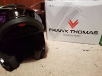 Frank Tomas Helmet, chain and cover