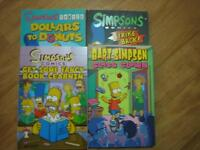 the Simpsons Books Brand New Condition 12 books