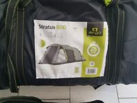 Brand New Airgo Stratus 600 Inflatable 6 Man Person Tent includes Footprint, Carpet and Porch.