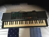 Rare Yamaha vss200 sampling keyboard with voice mic gwo