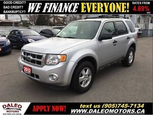 2012 Ford Escape XLT V6 1 OWNER LEATHER SUNROOF