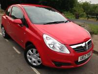 2008 Newer shape Vauxhall corsa club 1.3 cdti eco # £30 Tax # 2 owners # cheap insurance # s/h#