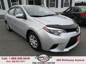 2014 Toyota Corolla CE $131.23 BIWEEKLY!!!