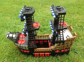 Kids Imaginext pirate ship - Ferndown, Dorset