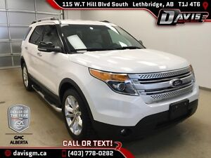 Used 2012 Ford Explorer 4WD XLT- Heated Leather, Navigation Remo