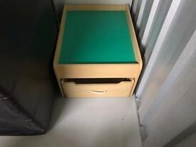 Train / toy table with full length drawer