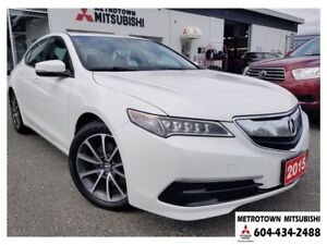 2015 Acura TLX Tech SH-AWD; Local BC vehicle!